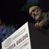 Carlo Petrini sul palco di Identità Golose 2010