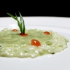 Carnaroli rice, tarragon, cucumber, currants