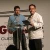 Terry Giacomello and Ferran Adrià at Identità Milano 2006 (photo by Sandra Salerno)