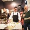 Luca Caviola, sous chef at L' Chimpl da Tamion dell'Hotel Gran Mugon in Vigo di Fassa (Trento)