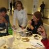 Antonella Millarte con Bill Knott, Elisabeth Minchilli e Lucy Gordan