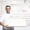Luigi Salomone, sous chef at Marennà in Sorbo Serpico (Avellino): he is the winner of the third edition of Premio Birra Moretti Grand Cru