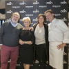 BERGAMO. Three pillars from the Cerea family spoke at Coin: next to Paolo Marchi, there's signora Bruna and her children Rossella and Chicco