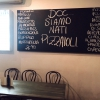 «DOC, siamo nati pizzaioli» says a large blackboard in one Tony Nicolini's DOC pizzerias. This is the one in Albert Park