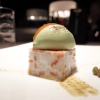 Come una cassata di mandarini, gelato with pistachio from Bronte and dehydrated capers