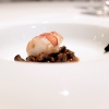Lobster and white snails potage