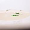 A fantastic end:Scampi milk with dill crème caramel