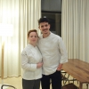 The two young chefs. The author of the photo gallery is Tanio Liotta