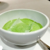Mousse of parsley and anchovies