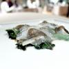 """Chiocciole di Cherasco, savoy cabbage, lard and """"preserved"""" garlic"""