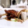 Pheasant, scorzonera truffle and foie gras sauce