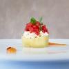Courgette,sarasdel fen, tomato, egg yolk with saffron: fresh, delicate, convincing