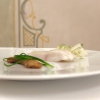 Turbot, fennel, cream of lemon, fried cartilage fritta: masterful skills