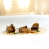 "Lomellina snails with sage and ""utirancotta Maricha"" green pepper"