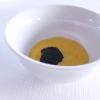 Potato scamorza with carbonara cream