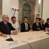 La conferenza stampa col ministro MaurizioMartina