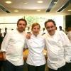 Loretta Fanella with Albert and Ferran Adrià