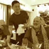 An Italian table is always nice and attracts everyone, even Yoshihiro Narisawa
