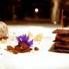 2015 - Millefoglie al cioccolato,gelato alla stracciatella,essenza di pesca di saturnia